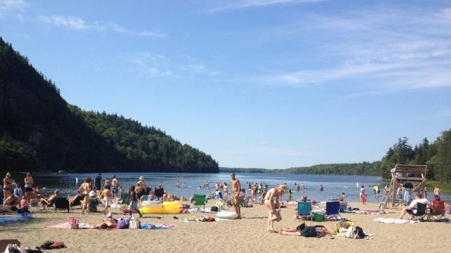 echo lake beach